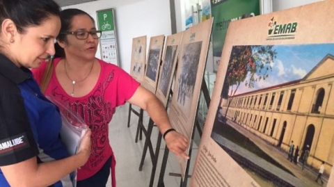 Emab expone galería sobre evolución de las basuras