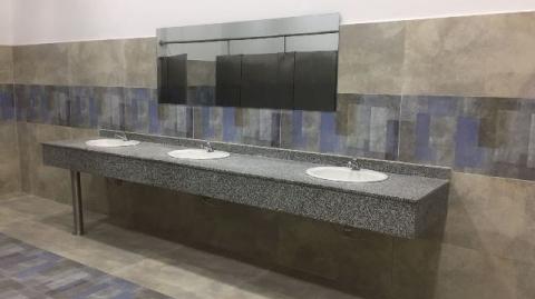 Ya están en servicio los baños de la estación Provenza Occidental