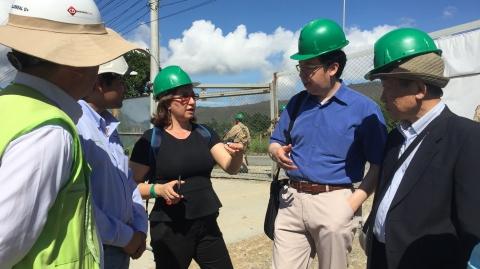 Consultor de Agencia de Japón visitó infraestructura de Metrolínea