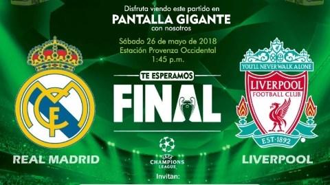 "La final de la Champions League se ""vive"" en Metrolínea"