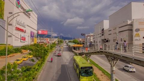 Metrolínea ajusta su operación por obras del intercambiador de Fátima en Floridablanca