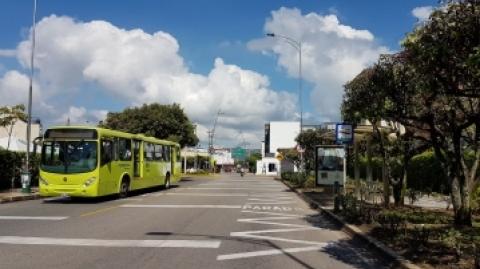 Metrolínea advierte ajustes operacionales por obras en sector occidental de Bucaramanga
