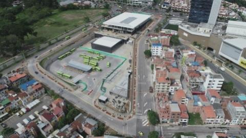 Entra en su recta final entrega del Portal de Metrolínea en Piedecuesta
