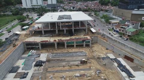 Obras del Portal de Metrolínea en Piedecuesta impactarán sector de Junín