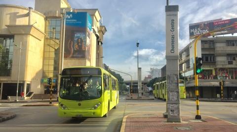Así operará Metrolinea durante el día sin carro