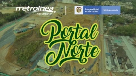 A buen paso avanza construcción del portal en el norte de Bucaramanga