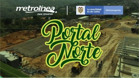 Portal del Metrolínea en el norte de Bucaramanga avanza en un 60%