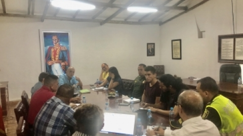 Gerente de Metrolínea y alcalde de Piedecuesta acuerdan compromisos para mejorar la operación en ese municipio