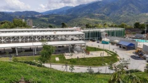 Portal Norte Ciudad Jardín del SITM Metrolínea va en 96% de avance
