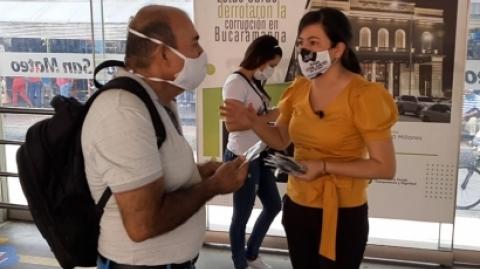 El SITM Metrolínea pide a los usuarios mantener las medidas de bioseguridad