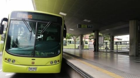 El SITM Metrolínea recupera la operación en el área metropolitana