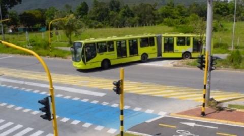 El SITM Metrolínea optimiza la llegada de los buses al Portal de Piedecuesta