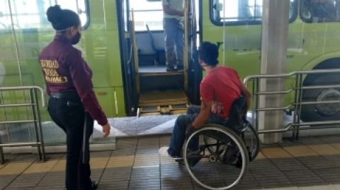 El SITM Metrolínea garantiza accesibilidad en buses y estaciones
