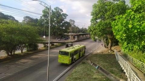 Comunicado sobre bus del Sistema incinerado en la Estación Españolita
