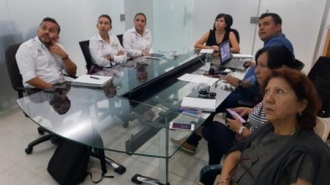 Metrolínea socializó con la Alcaldía de Girón las obras complementarias de la estación