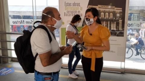 Ante posible aumento de ocupación al 50 %, Metrolínea refuerza campaña de autocuidado