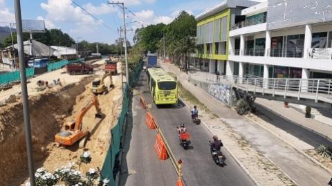 Se mejorarían tiempos de viaje de Metrolínea con solución vial en Piedecuesta